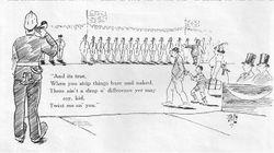 CCNews cartoon of opening ceremony 1927