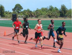 Running the 800 Meters