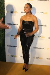 Demetria McKinney attends the 2014 365 Black Awards during the 2014 Essence Music Festival