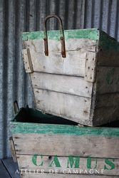 #27/018 FRENCH CHAMPAGNE CRATES