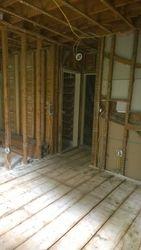 Gutted Bedroom