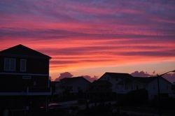 Oak Island Sunset 1