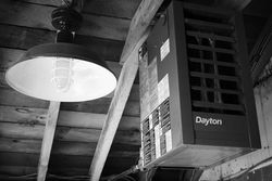 Light Fixture and Dayton Furnace