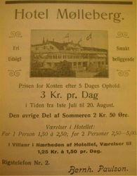 Hotell Molleberg 1912
