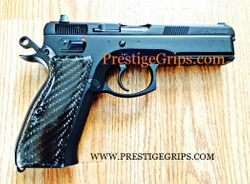 CZ 75/85 blk CF smooth mounted