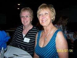 Mary Hon Irish and Jeanne Clark