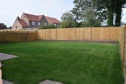 The Pullman rear garden