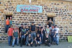 Stone house  Saloon