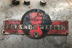 Welder Name Plate