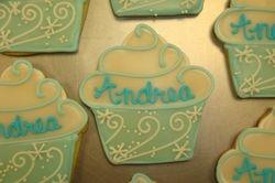 snow flake cupcake cookies $4.50 each