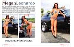 Megan Diana Bikini Magazine October 2015