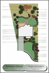 Residential Landscape Design - Smyrna, Georgia