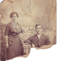 "William Cleveland Taylor and Iola Mae ""Pugger"" Dunn Taylor 1890's"