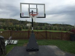 amazon portable basketball hoop assembly service in takoma park MD