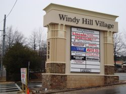 Windy Hill Pylon Sign