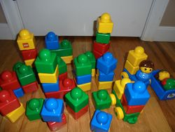 Lego Primo- Blocks for Babies- Quantity of 50 - $20