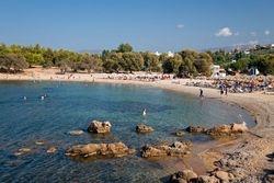 Agii Apostoli east sandy beach