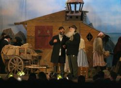 Well, Tevye, I'm on my way