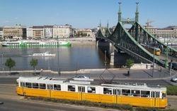 Ganz Trams & the Liberty Bridge
