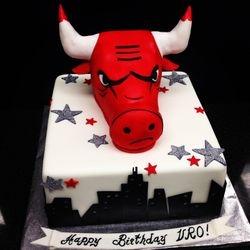 Bulls Cake