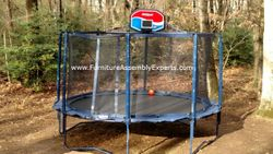 skywalker trampoline removal service in in Arlington Virginia