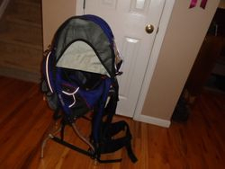 Kelty Back Country Child Carrier with Sun Shade - $150