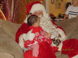 Nalania Is Still Awake When Santa Arrives