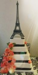 Paris Theme Quinceanera Cake