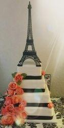 Paris Theme Quinceanera Cake