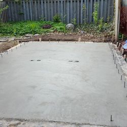 Garage Concrete Slab