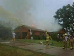 East Adair Street house fire