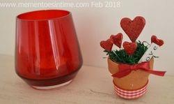 Mini Heart Valentines Pot
