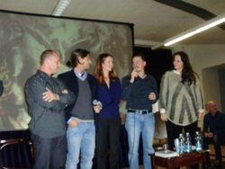 Foto di gruppo degli scrittori Curcio