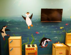 Underwater - penguins