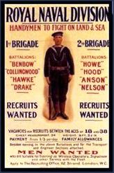 Recruitment Poster. c1915.