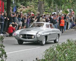 1953 Fiat 8V Supersonic Ghia Coupe