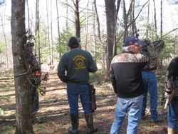 Group of Shooters Looking on..