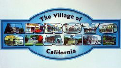The Village at Arroyo Grande T-Shirt Sign
