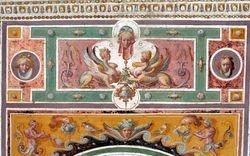 Grotesque ornament, Villa Lante, Bagnaia, 1570s