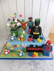 Children's Character Birthday Cake