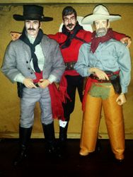 Ringo, Curly Bill, and Ike by Michael C