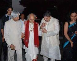 Pandit Jasraj and Dr. A. P. J. Abdul Kalam