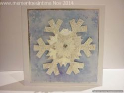 Layered Snowflake Card