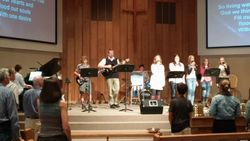 THRIVE (Youth Group) Leading Music