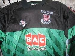 Alan Devonshire 1989 Testamonial keeper shirt