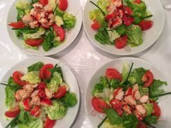 Lobster Salad Luncheon
