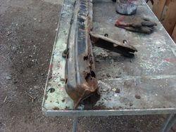 Rear crash bar