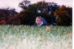 Ben in the grass 2