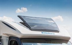 Persfoto's Knaus Sky Wave in modeljaar 2016