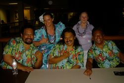 Kumu Manu and mom with Makaha Sons!